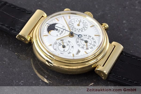 Used luxury watch IWC Da Vinci chronograph 18 ct gold automatic Kal. 79061 Ref. 3750  | 161789 13