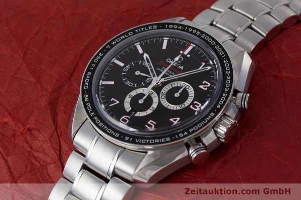 Used luxury watch Omega Speedmaster chronograph steel automatic Kal. 3313B Ref. 32130445001001  | 161792 01