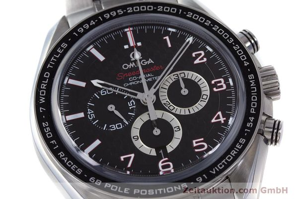 Used luxury watch Omega Speedmaster chronograph steel automatic Kal. 3313B Ref. 32130445001001  | 161792 02