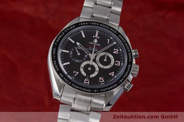 Used luxury watch Omega Speedmaster chronograph steel automatic Kal. 3313B Ref. 32130445001001  | 161792 04