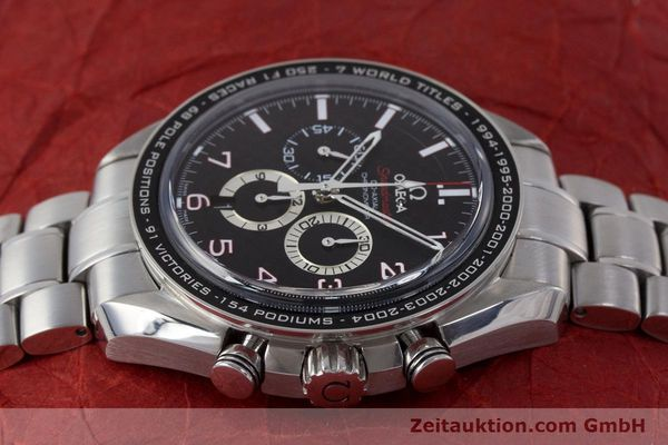 Used luxury watch Omega Speedmaster chronograph steel automatic Kal. 3313B Ref. 32130445001001  | 161792 05