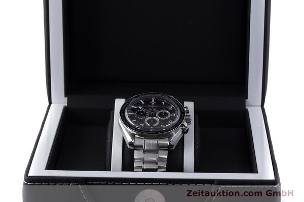 Used luxury watch Omega Speedmaster chronograph steel automatic Kal. 3313B Ref. 32130445001001  | 161792 07