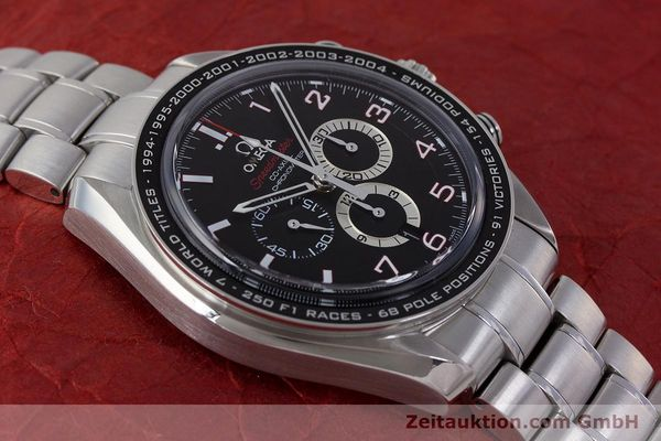 Used luxury watch Omega Speedmaster chronograph steel automatic Kal. 3313B Ref. 32130445001001  | 161792 16