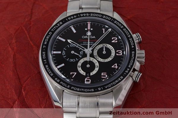 Used luxury watch Omega Speedmaster chronograph steel automatic Kal. 3313B Ref. 32130445001001  | 161792 17