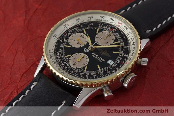 Used luxury watch Breitling Navitimer chronograph steel / gold automatic Kal. Valj. 7750 Ref. B13019  | 161794 01