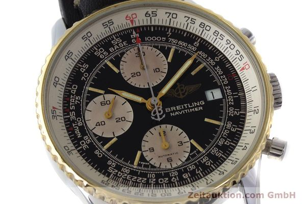Used luxury watch Breitling Navitimer chronograph steel / gold automatic Kal. Valj. 7750 Ref. B13019  | 161794 02