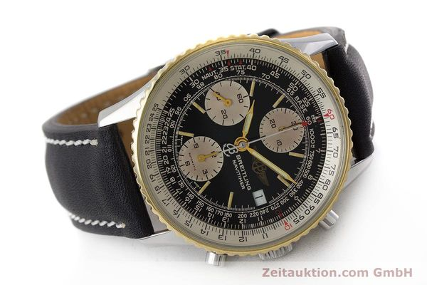 Used luxury watch Breitling Navitimer chronograph steel / gold automatic Kal. Valj. 7750 Ref. B13019  | 161794 03