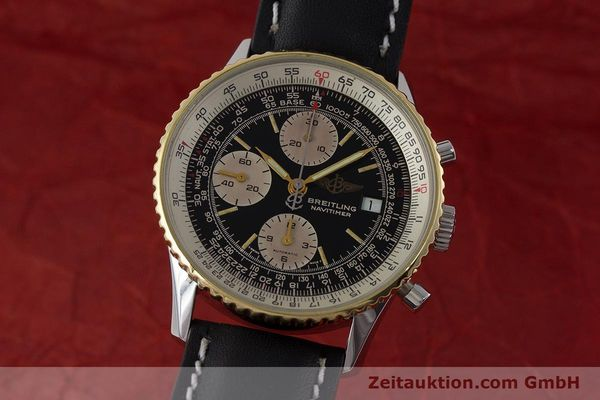 Used luxury watch Breitling Navitimer chronograph steel / gold automatic Kal. Valj. 7750 Ref. B13019  | 161794 04