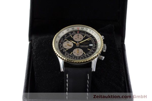 Used luxury watch Breitling Navitimer chronograph steel / gold automatic Kal. Valj. 7750 Ref. B13019  | 161794 07