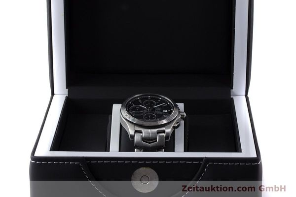 Used luxury watch Tag Heuer Link chronograph steel automatic Kal. 16 ETA 7750 Ref. CJF2110-0  | 161798 07
