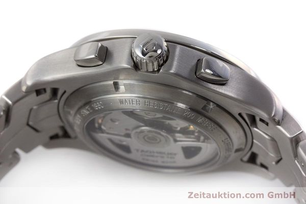 Used luxury watch Tag Heuer Link chronograph steel automatic Kal. 16 ETA 7750 Ref. CJF2110-0  | 161798 08