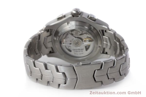 Used luxury watch Tag Heuer Link chronograph steel automatic Kal. 16 ETA 7750 Ref. CJF2110-0  | 161798 11