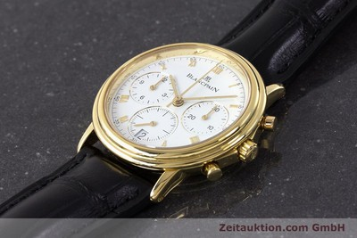 BLANCPAIN VILLERET CHRONOGRAPHE OR 18 CT AUTOMATIQUE KAL. 1185 LP: 16910EUR [161805]