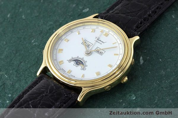 Used luxury watch Chopard Luna Doro 18 ct gold automatic Kal. 900 Ref. 1103  | 161806 01