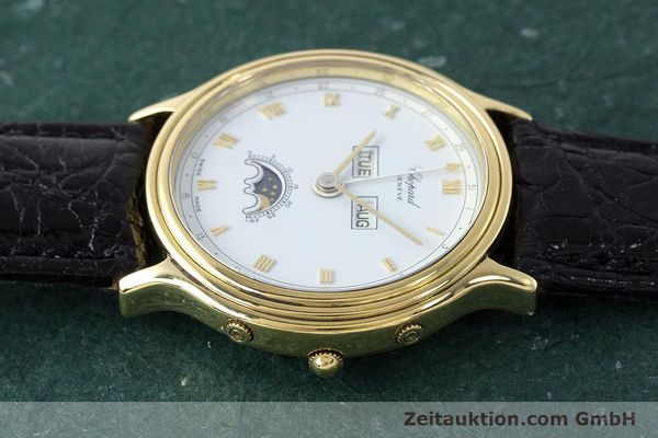 Used luxury watch Chopard Luna Doro 18 ct gold automatic Kal. 900 Ref. 1103  | 161806 05