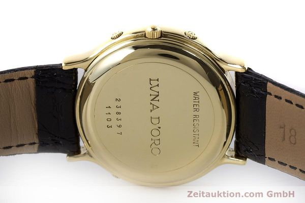 Used luxury watch Chopard Luna Doro 18 ct gold automatic Kal. 900 Ref. 1103  | 161806 08