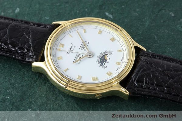 Used luxury watch Chopard Luna Doro 18 ct gold automatic Kal. 900 Ref. 1103  | 161806 13