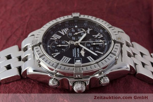 Used luxury watch Breitling Crosswind chronograph steel automatic Kal. B13 ETA 7750 Ref. A13355  | 161808 05