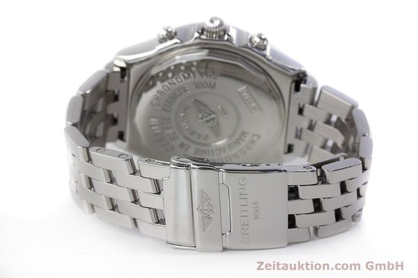 Used luxury watch Breitling Crosswind chronograph steel automatic Kal. B13 ETA 7750 Ref. A13355  | 161808 11