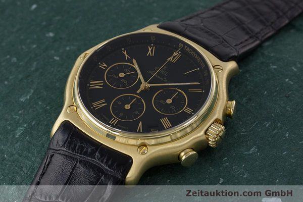 Used luxury watch Ebel 1911 chronograph 18 ct gold automatic Kal. 134 400 Ref. 8134901  | 161824 01