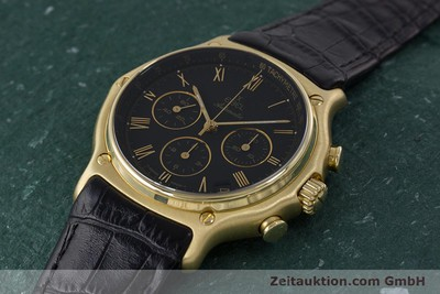 EBEL 1911 CHRONOGRAPH 18 CT GOLD AUTOMATIC KAL. 134 400 [161824]
