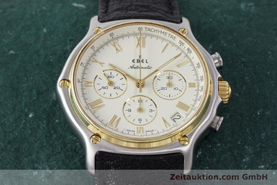 EBEL 1911 CHRONOGRAPH STEEL / GOLD AUTOMATIC KAL. 134 400 [161825]