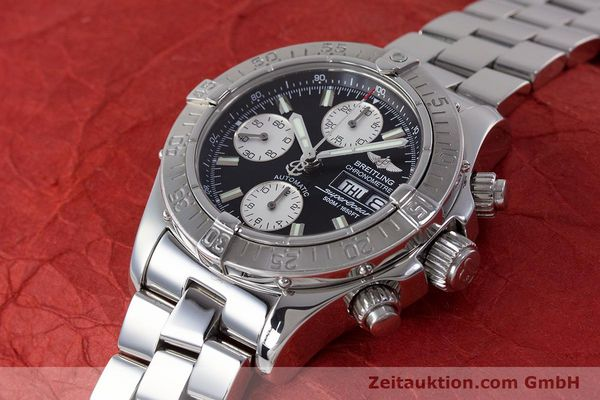 Used luxury watch Breitling Superocean Chronograph chronograph steel automatic Kal. B13 ETA 7750 Ref. A13340  | 161826 01