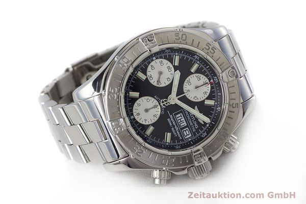 Used luxury watch Breitling Superocean Chronograph chronograph steel automatic Kal. B13 ETA 7750 Ref. A13340  | 161826 03