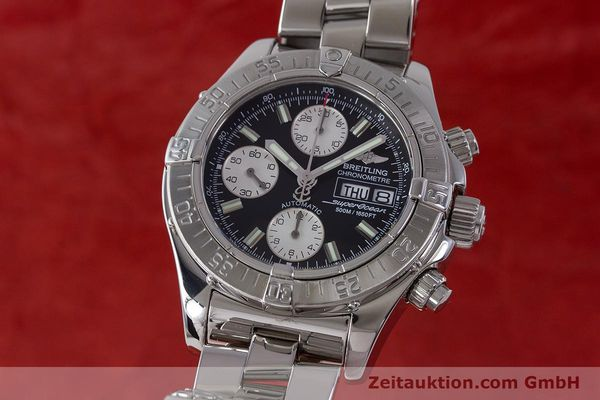 Used luxury watch Breitling Superocean Chronograph chronograph steel automatic Kal. B13 ETA 7750 Ref. A13340  | 161826 04