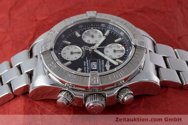 Used luxury watch Breitling Superocean Chronograph chronograph steel automatic Kal. B13 ETA 7750 Ref. A13340  | 161826 05