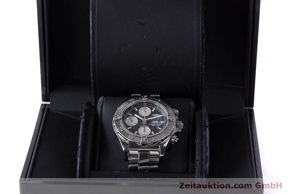 Used luxury watch Breitling Superocean Chronograph chronograph steel automatic Kal. B13 ETA 7750 Ref. A13340  | 161826 07