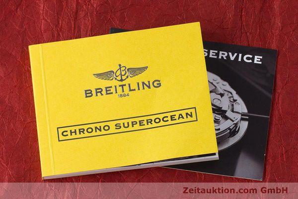 Used luxury watch Breitling Superocean Chronograph chronograph steel automatic Kal. B13 ETA 7750 Ref. A13340  | 161826 13