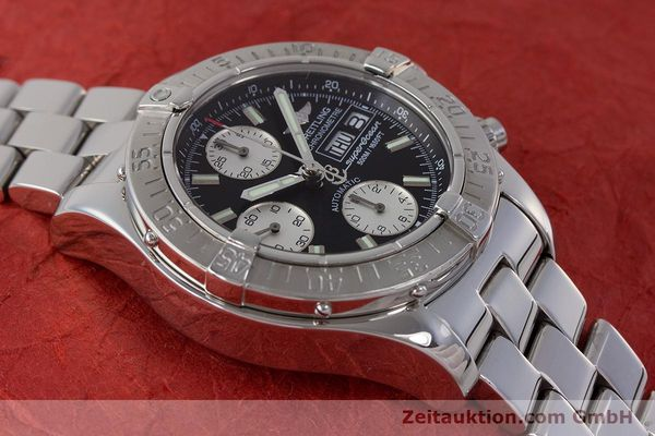Used luxury watch Breitling Superocean Chronograph chronograph steel automatic Kal. B13 ETA 7750 Ref. A13340  | 161826 16