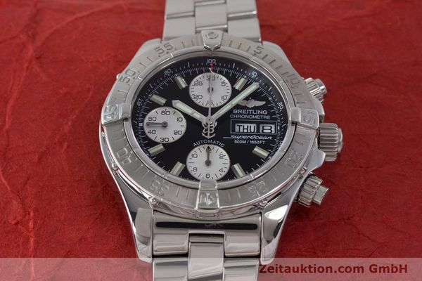 Used luxury watch Breitling Superocean Chronograph chronograph steel automatic Kal. B13 ETA 7750 Ref. A13340  | 161826 17