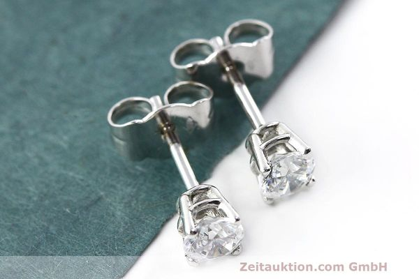 OHRSTECKER 950 PLATIN DIAMANT BRILLANT 0,60 CT IF OHRRING DIAMOND 4.150 Euro [161832]