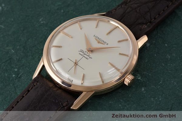 Used luxury watch Longines Flagship 18 ct gold automatic Kal. 350 VINTAGE  | 161836 01