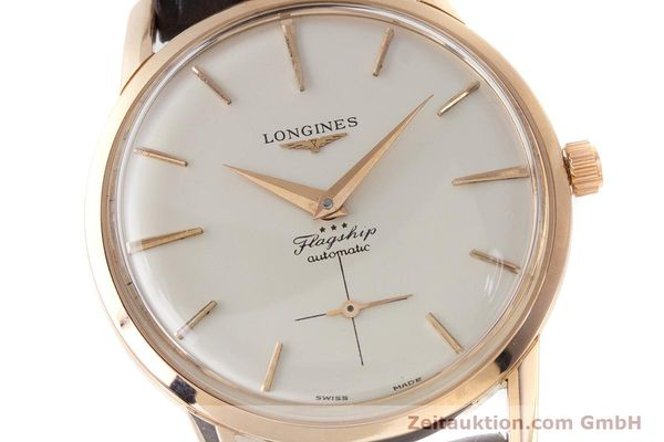 Used luxury watch Longines Flagship 18 ct gold automatic Kal. 350 VINTAGE  | 161836 02