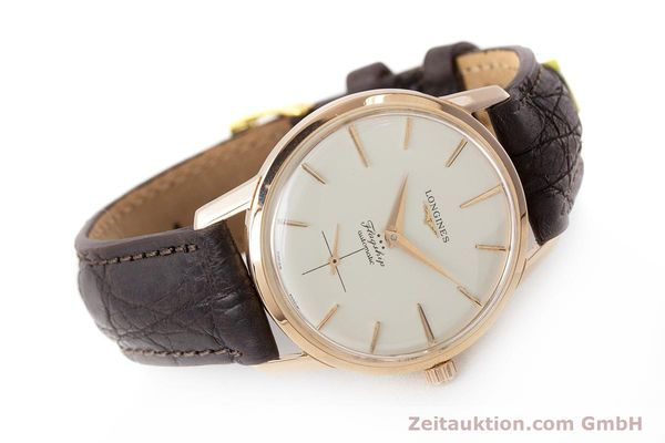 Used luxury watch Longines Flagship 18 ct gold automatic Kal. 350 VINTAGE  | 161836 03