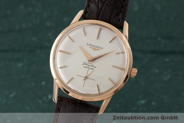 Used luxury watch Longines Flagship 18 ct gold automatic Kal. 350 VINTAGE  | 161836 04