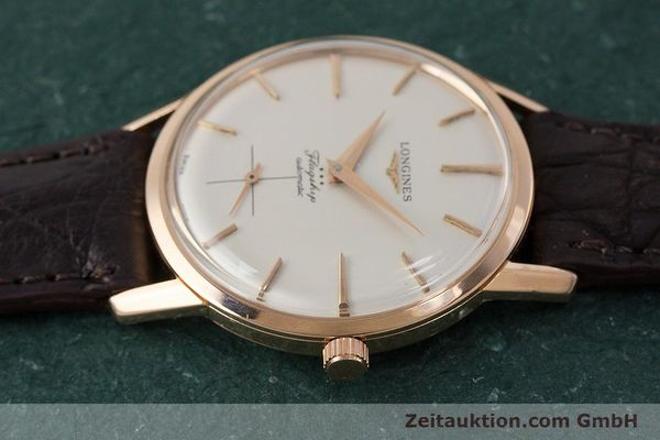 Used luxury watch Longines Flagship 18 ct gold automatic Kal. 350 VINTAGE  | 161836 05