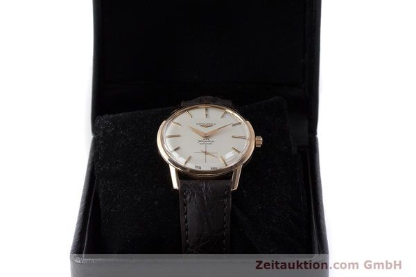 Used luxury watch Longines Flagship 18 ct gold automatic Kal. 350 VINTAGE  | 161836 07