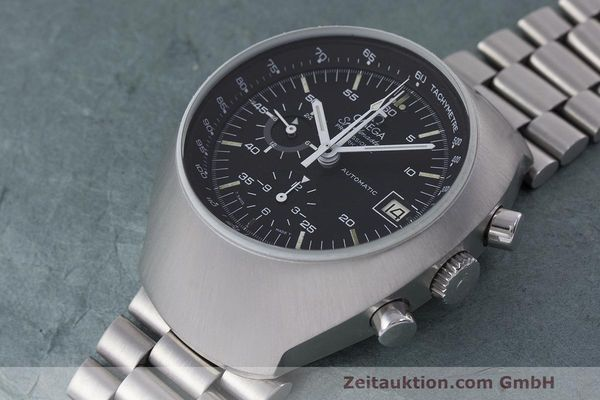 Used luxury watch Omega Speedmaster chronograph steel automatic Kal. 1040 Ref. 176.002  | 161837 01