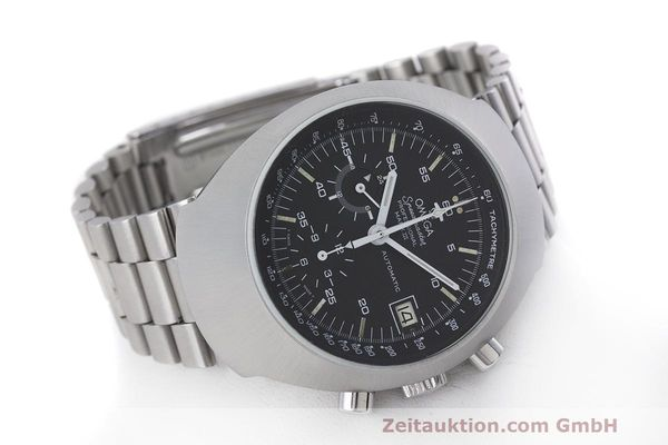 Used luxury watch Omega Speedmaster chronograph steel automatic Kal. 1040 Ref. 176.002  | 161837 03