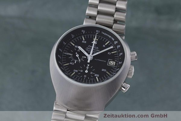 Used luxury watch Omega Speedmaster chronograph steel automatic Kal. 1040 Ref. 176.002  | 161837 04