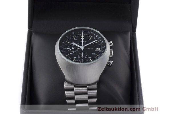 Used luxury watch Omega Speedmaster chronograph steel automatic Kal. 1040 Ref. 176.002  | 161837 07