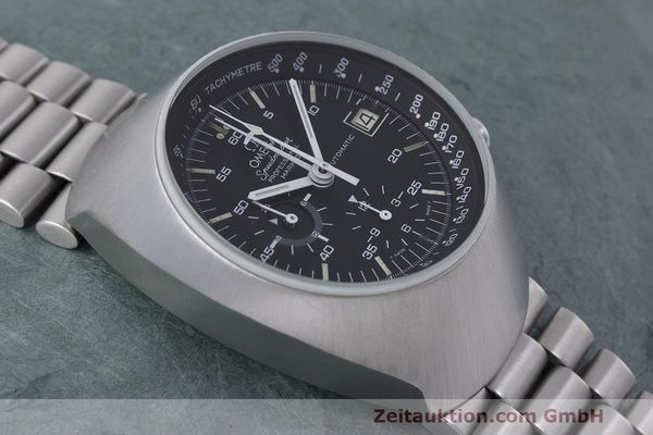 Used luxury watch Omega Speedmaster chronograph steel automatic Kal. 1040 Ref. 176.002  | 161837 14