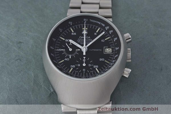 Used luxury watch Omega Speedmaster chronograph steel automatic Kal. 1040 Ref. 176.002  | 161837 15