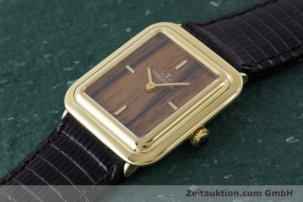 Used luxury watch Jaeger Le Coultre * 18 ct gold manual winding Kal. 841 Ref. 603XXX  | 161838 01