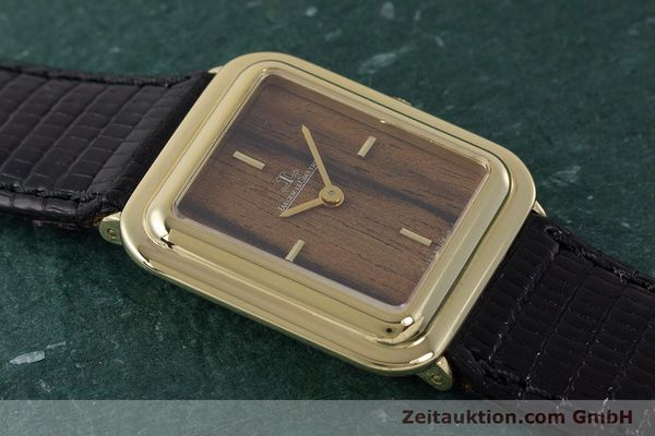 Used luxury watch Jaeger Le Coultre * 18 ct gold manual winding Kal. 841 Ref. 603XXX  | 161838 13