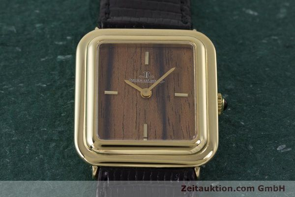 Used luxury watch Jaeger Le Coultre * 18 ct gold manual winding Kal. 841 Ref. 603XXX  | 161838 14